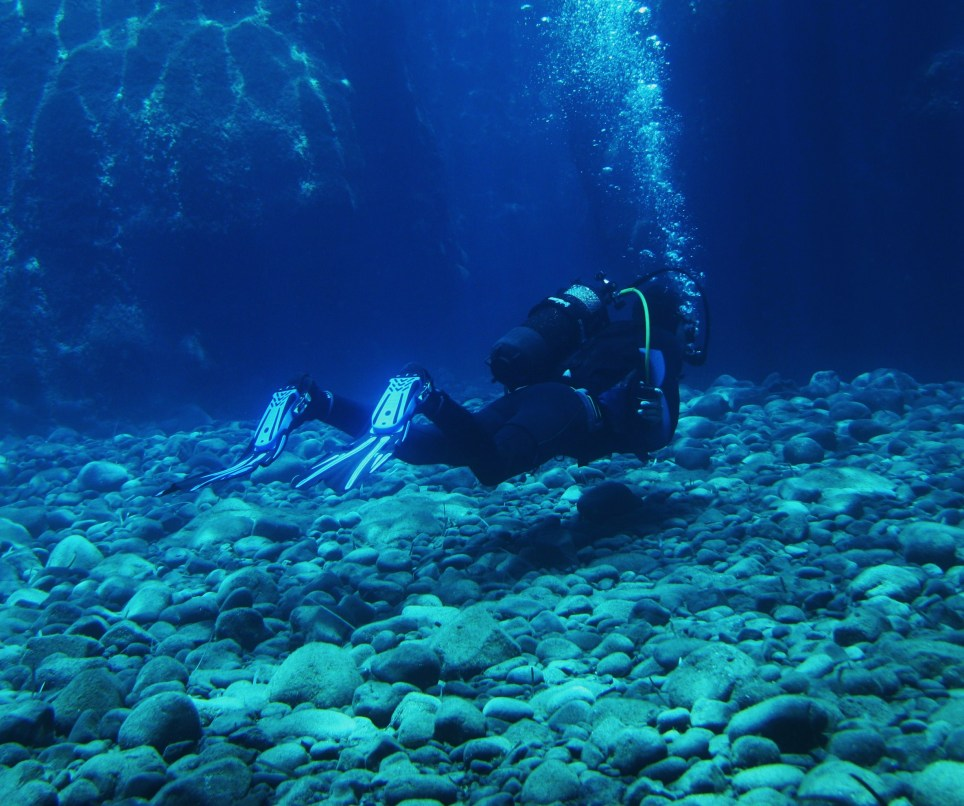 Scuba Diving in Santorini in Greece for beginners experience day