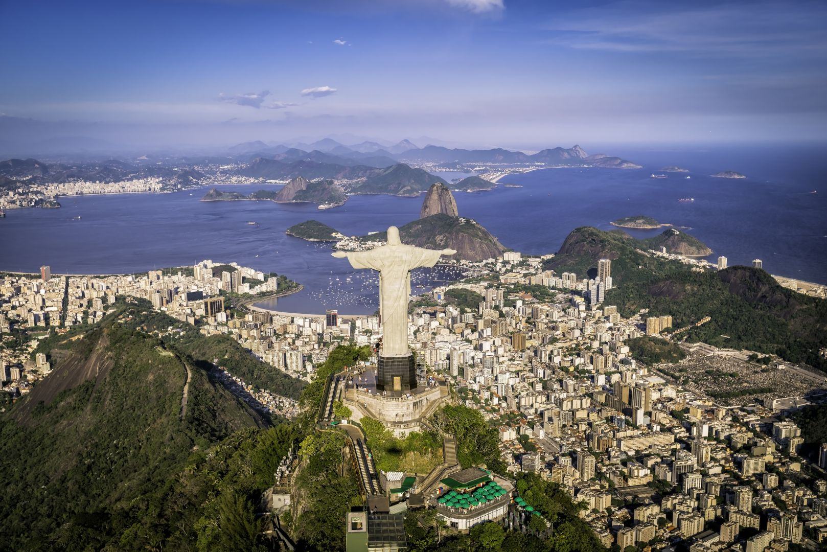 The Statue of Christ the Redeemer in Brazil, Rio 2016