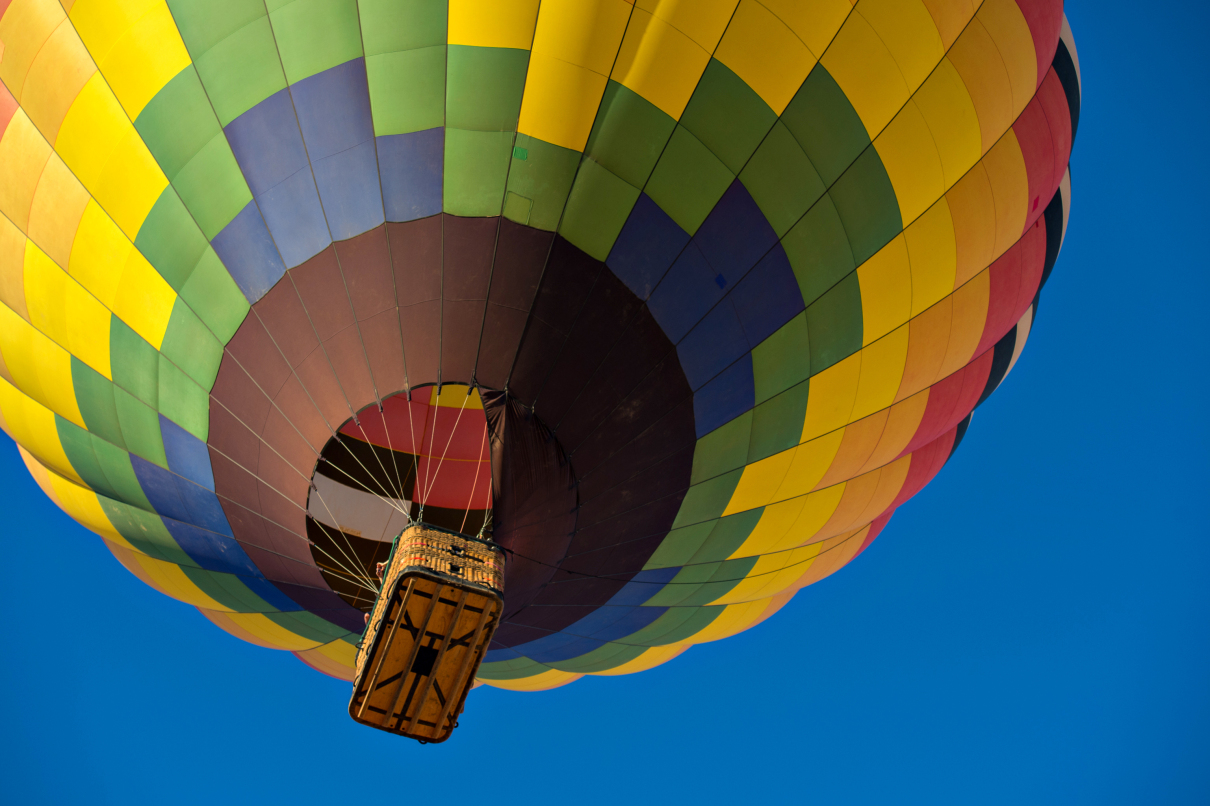 Breathtaking Hot Air Balloon Flight over Sonoran Desert in Arizona