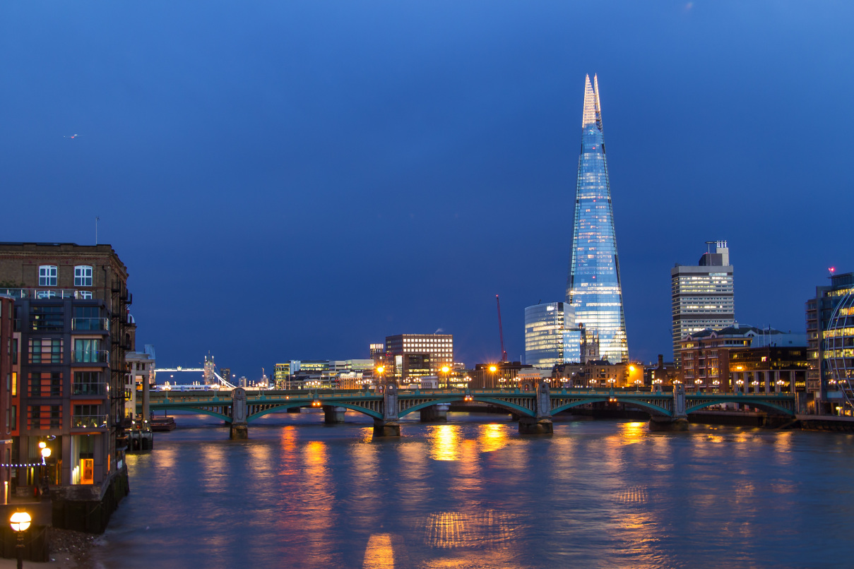Spectacular View from the Shard and Lunch for Two in London