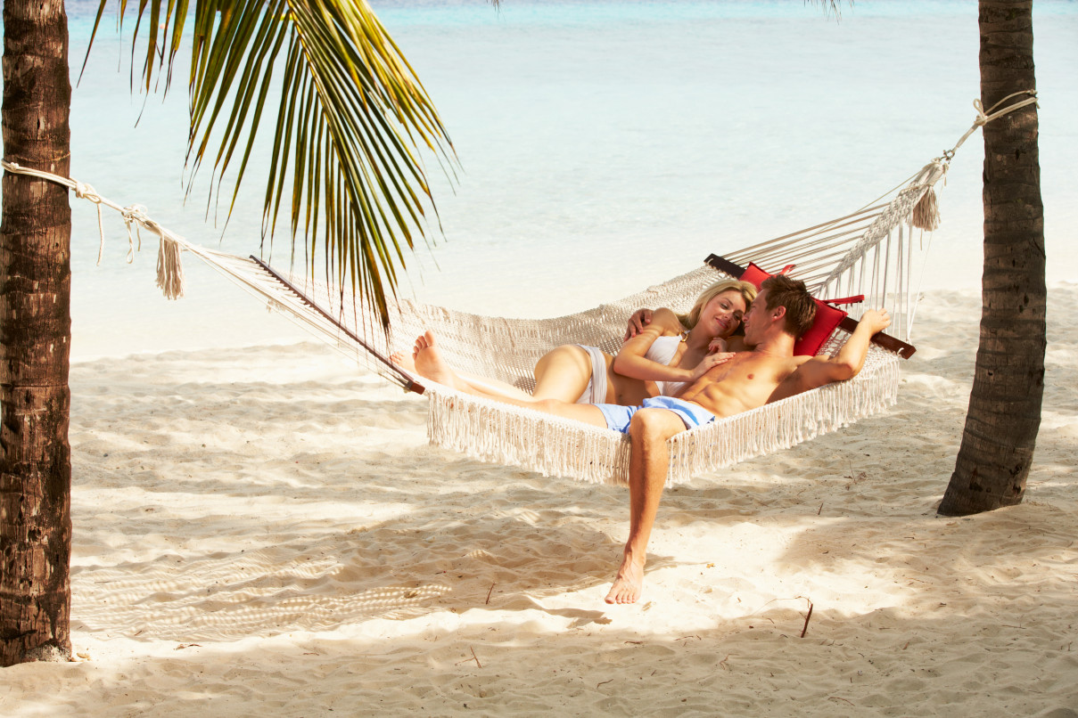 Couples' hammocks